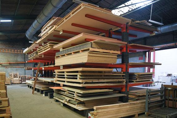 Capacité de stockage de 1000 panneaux