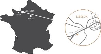 Roselier lisieux agencement aménagement magasins boutiques musées calvados normandie