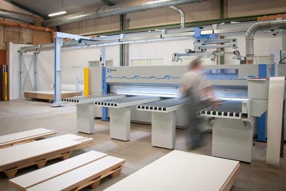 Scie à panneaux numérique Holzma HPP300-43 + TBP211