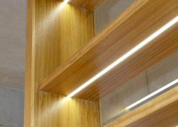 Roselier Agencement Lisieux - Librairie - Détail éclairage Led