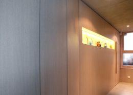 Roselier Agencement - Before - Habillages et placards intégrés et niche avec éclairage Led