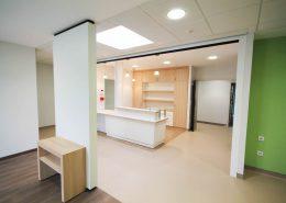Roselier Agencement - Espace Entreprises - Banque d'accueil et aménagements sur mesure - Cabinet dentaire - Deauville - Design Structure Réalisateur d'espaces