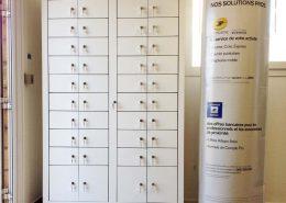 Roselier Agencement - Espace Entreprises - Meuble courriers - La Poste - Calvados