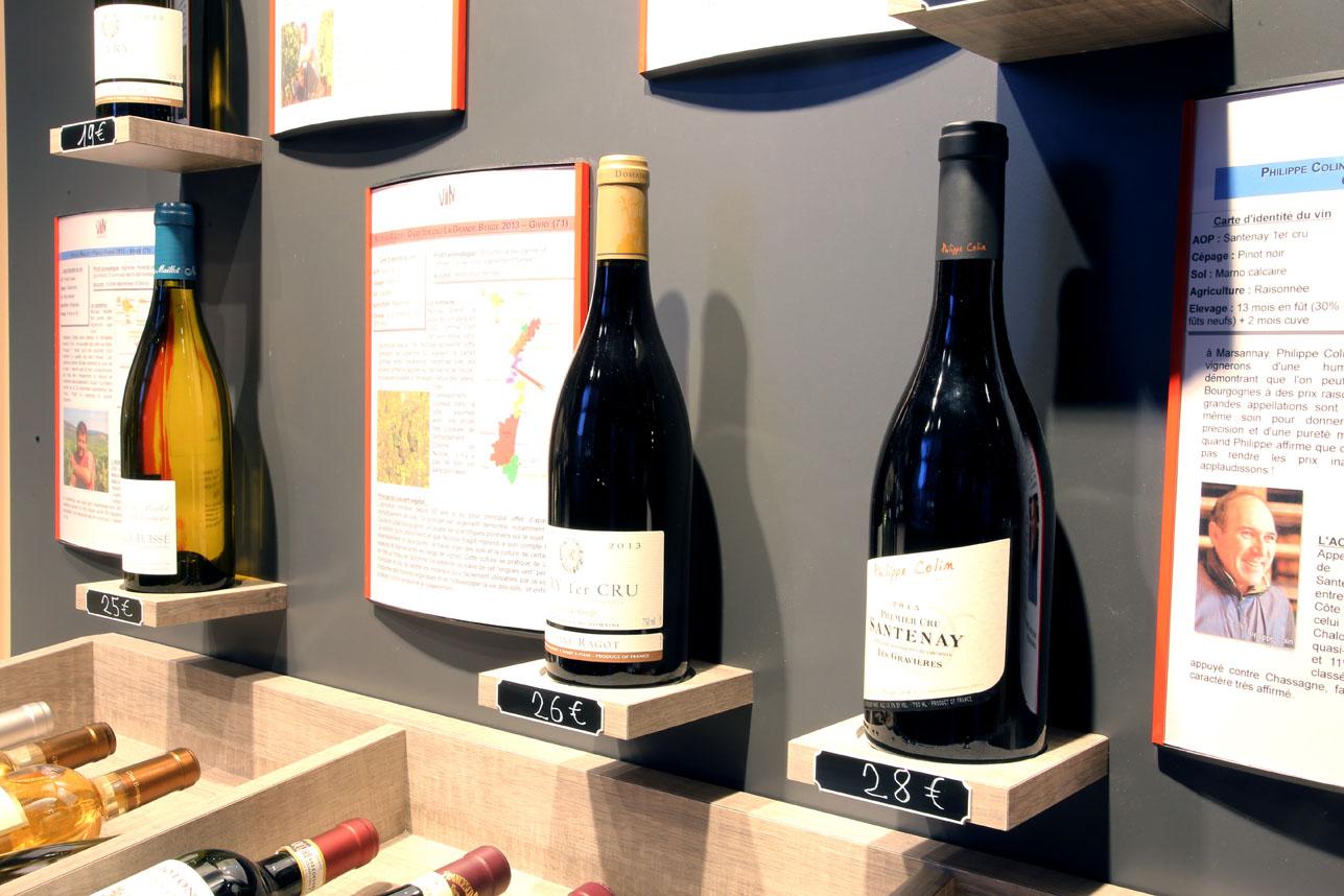 agencement de caves À vin - roselier - menuiserie, lisieux