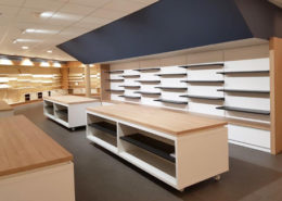 Roselier Agencement - Librairie de la Basilique de Lisieux