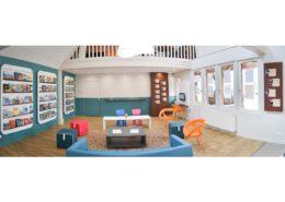 Roselier Agencement - Office Tourisme Beuvron en Auge - Vue générale de l'Office de tourisme de Beuvron en Auge