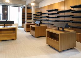 Roselier Agencement Lisieux - Librairie - Vue générale de la librairie