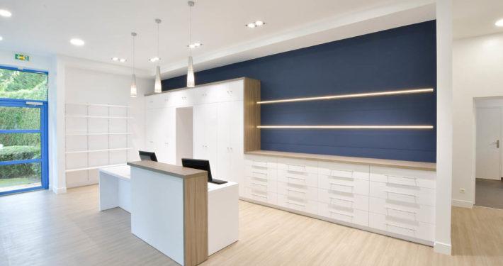 Roselier Agencement - Clinique vétérinaire - Lisieux - Design Structure Réalisateur d'espaces